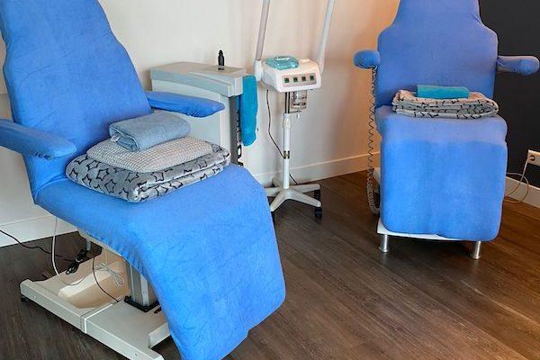 Diverse behandelingen mogelijk voor de huid.